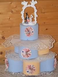 Eine Torte Aus Toilettenpapier Ein Lustiges Hochzeitsgeschenk