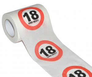 18. Geburtstag Toilettenpapier