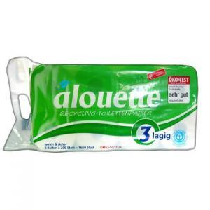 Alouette Recycling-Toilettenpapier Packung