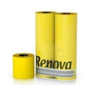 Gelbes Toilettenpapier von Renova