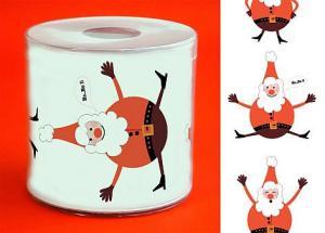 Weihnachtsmann Toilettenpapier