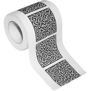 Toilettenpapier Labyrinth