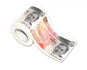 50 Millionen Pfund Toilettenpapier