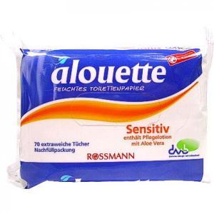 alouette Feuchtes Toilettenpapier Sensitiv