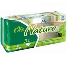 AS Toilettenpapier Öko Nature, 8 Rollen