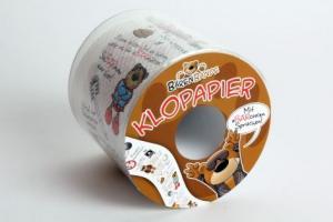 Bärenbande Toilettenpapier