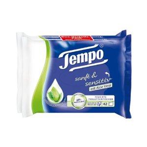 Tempo feuchtes Toilettenpapier Aloe Vera