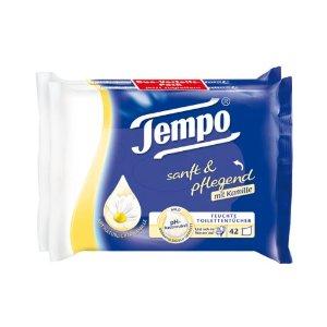 Tempo feuchtes Toilettenpapier Kamille