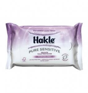 Hakle feucht Pure Sensive - feuchte Toilettentücher