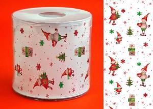 Weihnachtstoilettenpapier mit Wichtel Muster