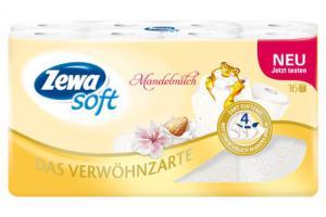 Zewa Soft Mandelmilch Toilettenpapier